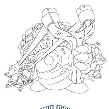 Dibujo de SHROOMBOOM para colorear Skylanders Giants