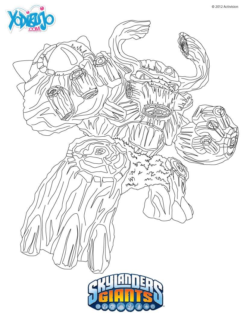 Increíble Skylander Para Colorear Imprimible Colección de Imágenes ...
