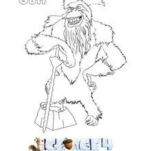 Dibujos Para Colorear Manny El Mamut Ice Age 4 Es