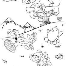 Dibujo del MUNDO PETIZOO para colorear en línea - Dibujos para Colorear y Pintar - Dibujos para colorear PERSONAJES - Dibujos para colorear y pintar PERSONAJES - Dibujos de PETIZOO de LALA para colorear
