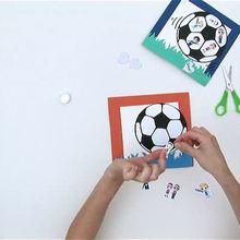 Video manualidades PORTARETRATO FUTBOL regalo dia del padre - Videos infantiles gratis - Videos MANUALIDADES - Videos de manualidades DIA EL PADRE