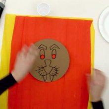 Mascara carnaval LEON - Videos infantiles gratis - Videos MANUALIDADES - Videos de manualidades MASCARAS CARNAVAL