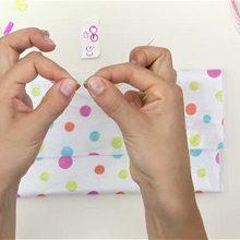 Video de fabricar un estuche de tejido personalizado