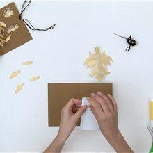 Video de fabricar tarjeta pajaro