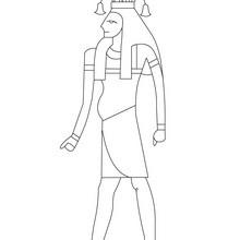 Dios egipcio HAPY para colorear - Dibujos para Colorear y Pintar - Dibujos para colorear los PAISES - EGIPTO para colorear - DIOSES EGIPCIOS para colorear