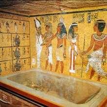 Egipto, Puzzle TUMBA FARAÓN EGIPCIO para jugar online