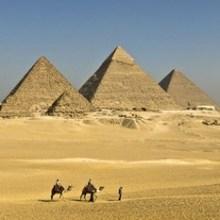 Rompecabezas PÍRAMIDES DE EGIPTO para jugar en línea
