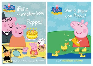 ¡Feliz cumpleaños PEPPA PIG!