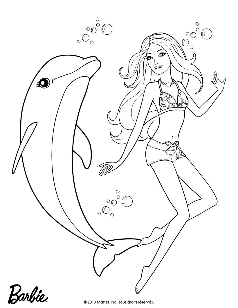 coloring pages barbie merliah - photo#21