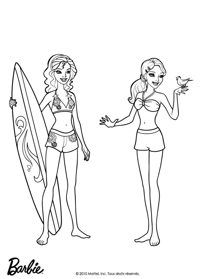 Dibujos para colorear merliah y hadley - es.hellokids.com