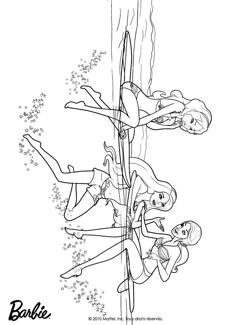 Dibujos Para Colorear De Barbie Merliah ~ Ideas Creativas Sobre Colorear