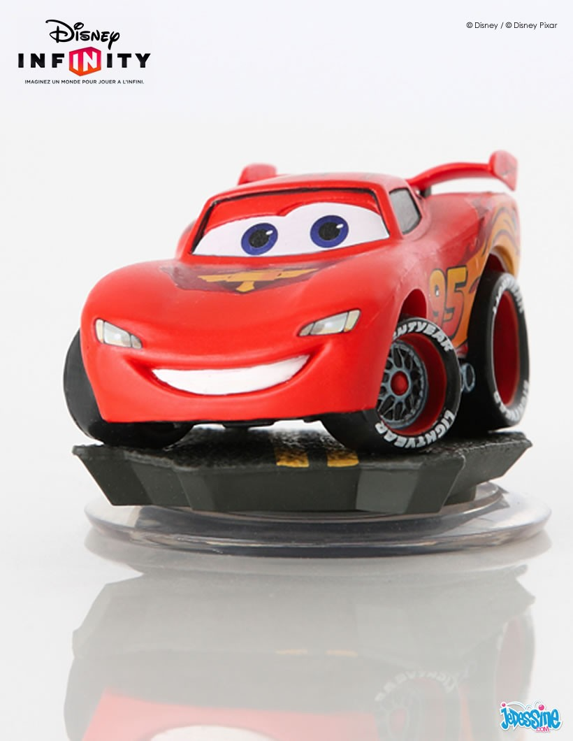 Figurine de Flash McQueen