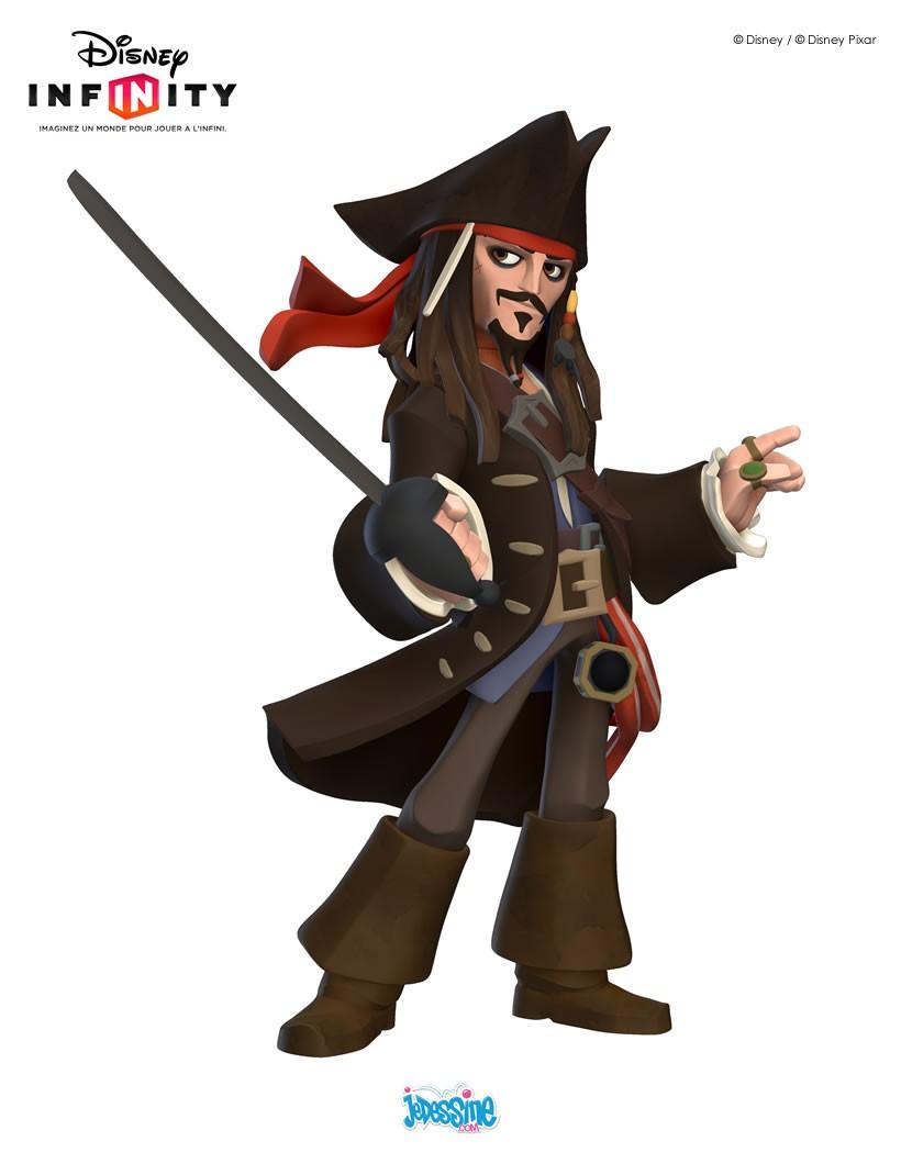 Figurine de Jack Sparrow