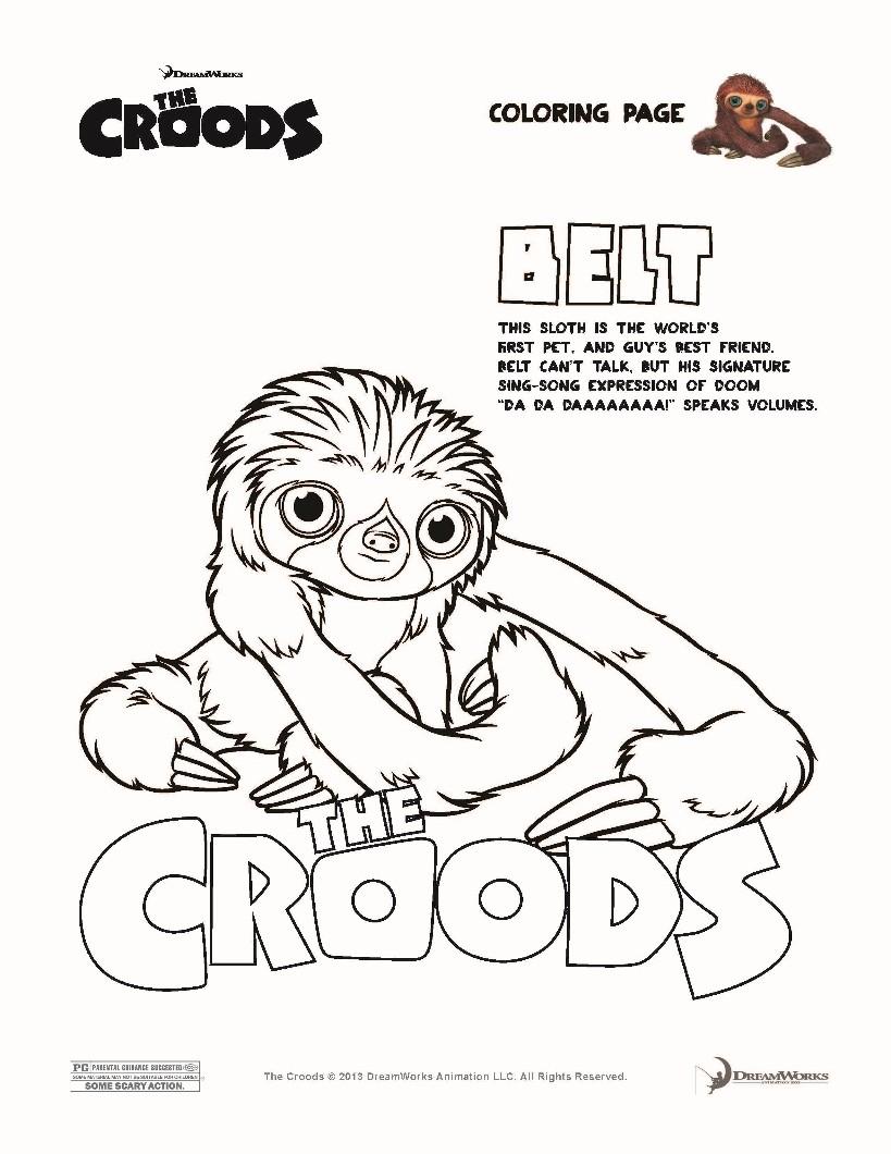 Los Croods: Una aventura prehistórica - Película 2013