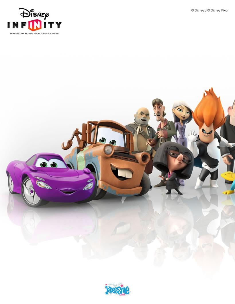 Tous les personnages de Disney Infinity