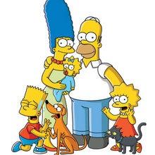 Los Simpsons, Dibujos de LOS SIMPSON