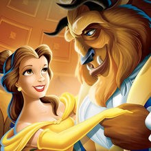 princesa, Dibujos LA BELLA Y LA BESTIA para colorear Disney