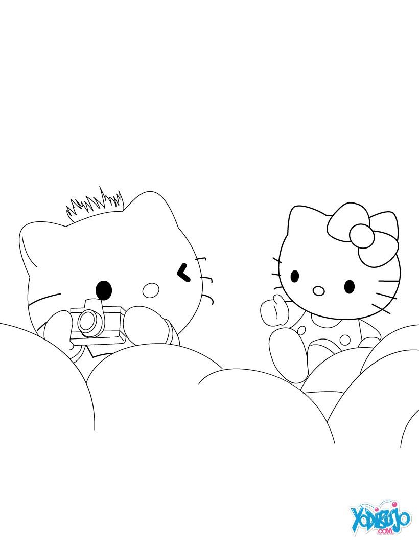 Hello Kitty : Dibujos para Colorear, Dibujo para Niños, NOTICIAS DEL ...