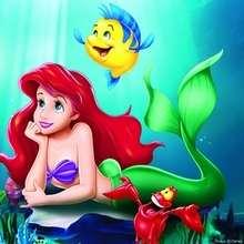 Puzzle en línea : Princesa Ariel la Sirenita