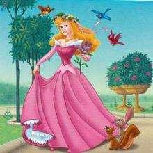 Puzzle en línea : Princesa Aurora, La Bella Durmiente