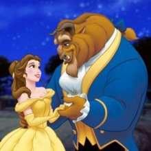 Puzzle en línea : Princesa Bella y la Bestia