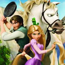 Disney, Dibujos ENREDADOS para colorear