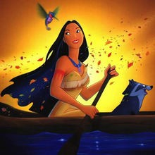 Disney, Dibujos POCAHONTAS para colorear