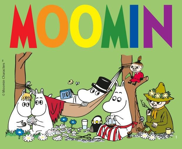 Dibujos para colorear MOOMIN