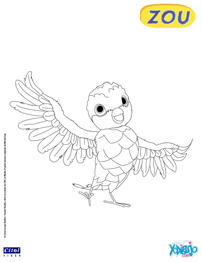 Dibujos para colorear zinnia - es.hellokids.com