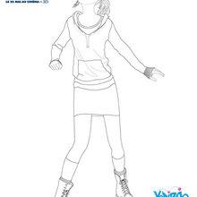 Dibujo de MARY KATHERINE para imprimir gratis - Dibujos para Colorear y Pintar - Dibujos de PELICULAS colorear - Dibujos de EPIC EL MUNDO SECRETO para colorear