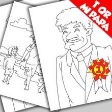 Día del Padre, Dibujos para colorear DIA DEL PADRE