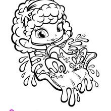 Dibujo de PINYPON PARQUE ACUATICO para colorear - Dibujos para Colorear y Pintar - Dibujos para colorear PERSONAJES - Dibujos para colorear y pintar PERSONAJES - Dibujos de PINYPON para colorear