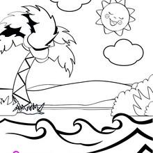 Dibujo PARQUE ACUATICO para colorer e imprimir - Dibujos para Colorear y Pintar - Dibujos para colorear PERSONAJES - Dibujos para colorear y pintar PERSONAJES - Dibujos de PINYPON para colorear
