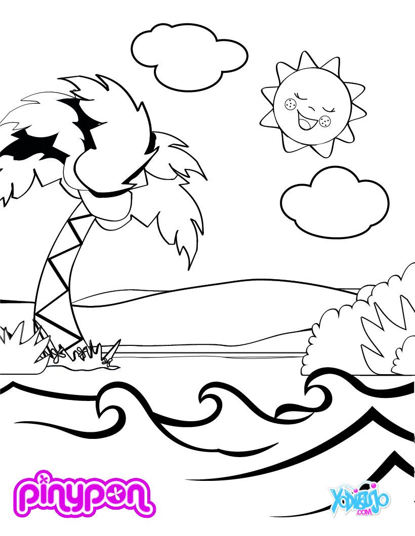 Dibujos Para Colorear Parque Acuatico Para Colorer Es