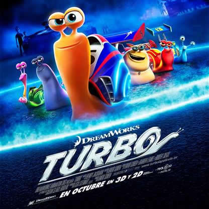 TURBO, el caracol super veloz¡!