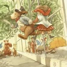 Capítulo 3 - UNA CARRERA LOCA Y UNA LARGA HISTORIA - Lecturas Infantiles - Cuentos infantiles - Cuentos de niños - Las Aventuras de Alicia en el País de las Maravillas