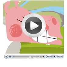 EL LOBO Y EL CORDERO - Videos infantiles gratis - Cuentos y Fábulas de LA FONTAINE en vídeo