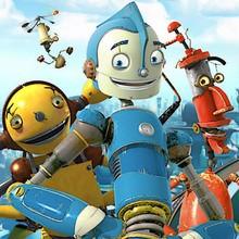 niña, Dibujos para colorear ROBOTS PELICULA