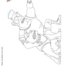 Dibujo de GRUMBO para imprimir y pintar - Dibujos para Colorear y Pintar - Dibujos de PELICULAS colorear - Dibujos de BLACKIE Y KANUTO para colorear