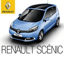 Renault Scénic Coche Azul
