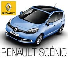 Renault Scénic AZUL eléctrico - Juegos divertidos - ROMPECABEZAS INFANTILES - Rompecabezas RENAULT SCÉNIC