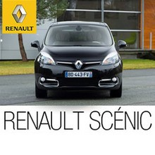 Renault Scénic Coche Negro