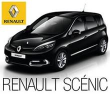 Renault Scénic Coche Blanco - Juegos divertidos - ROMPECABEZAS INFANTILES - Rompecabezas RENAULT SCÉNIC