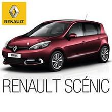 Renault Scénic color rojo - Juegos divertidos - ROMPECABEZAS INFANTILES - Rompecabezas RENAULT SCÉNIC