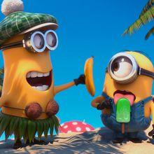 Los Minions a la playa