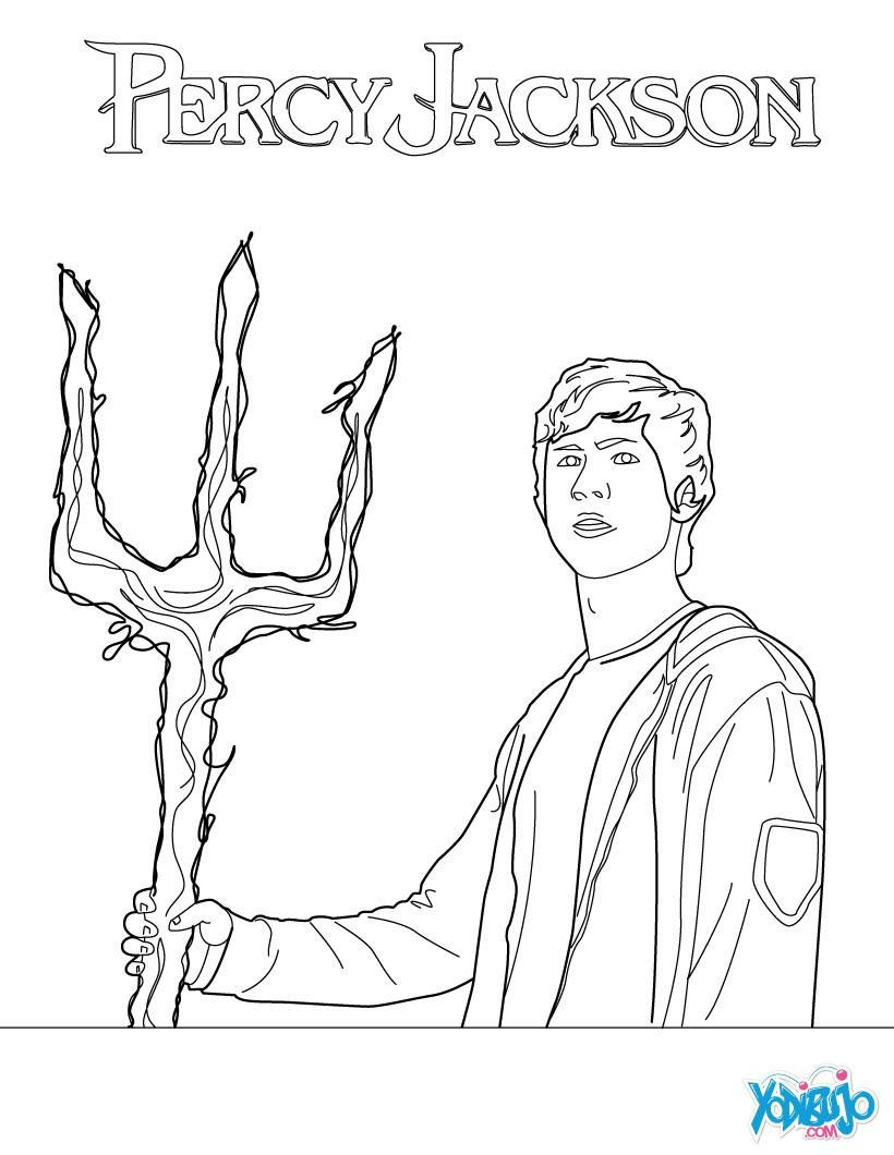 Lujoso Percy Jackson Para Colorear Imprimibles Inspiración - Dibujos ...