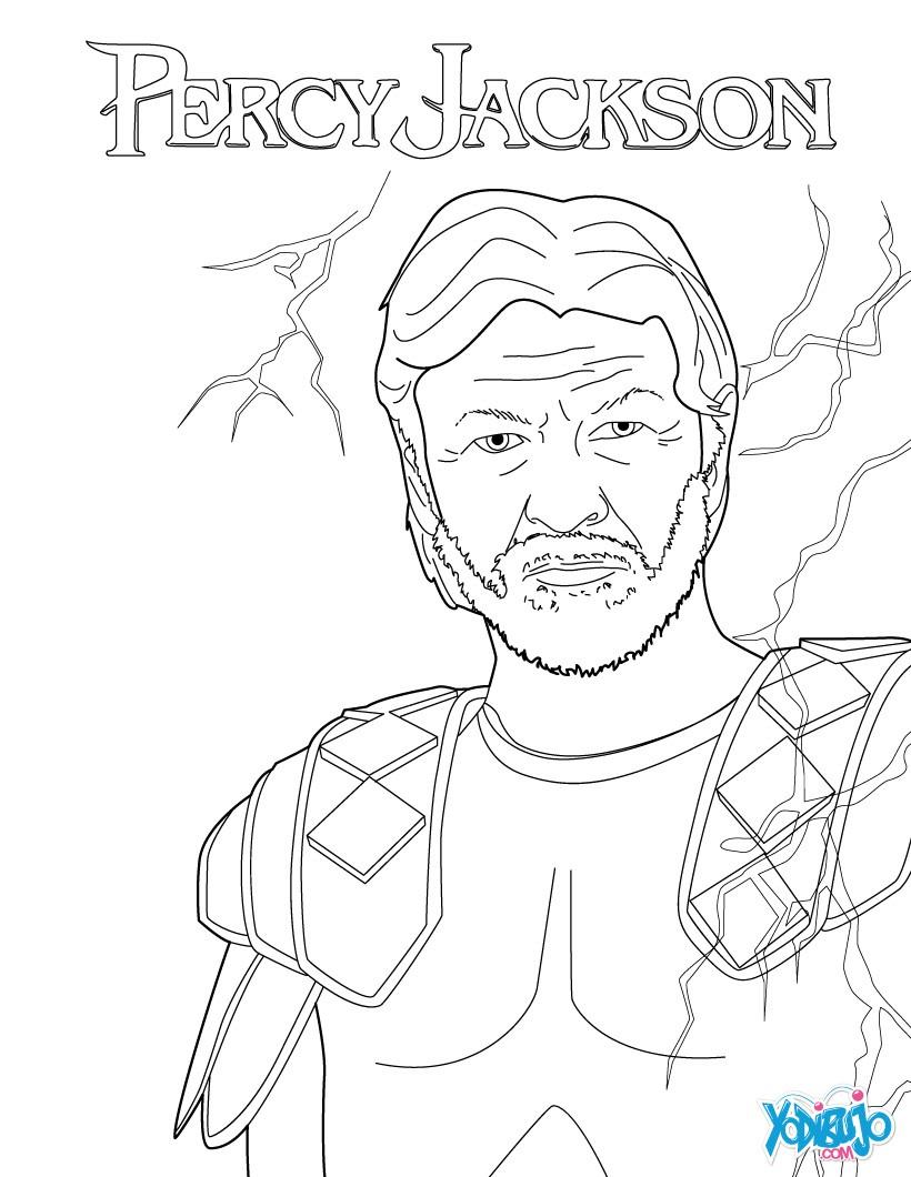 Dibujos para colorear zeus for Zeus coloring page