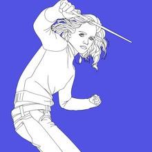 Harry Potter, Dibujos de EMMA WATSON para colorear