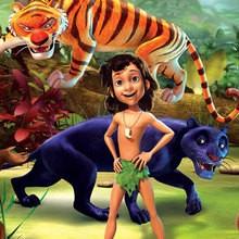 Disney, Dibujos EL LIBRO DE LA SELVA para colorear
