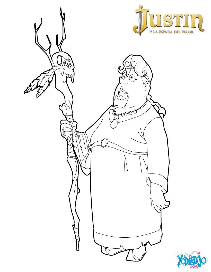 Justin y la espada del valor : Dibujos para Colorear, NOTICIAS DEL ...